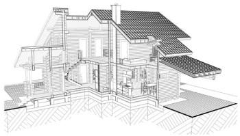 архитектурный проект коттеджа